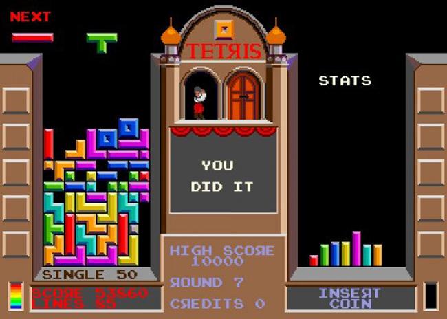 Tetris Puzle