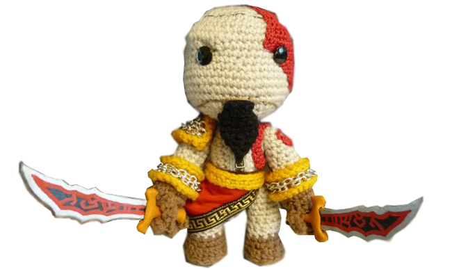 sackboy kratos