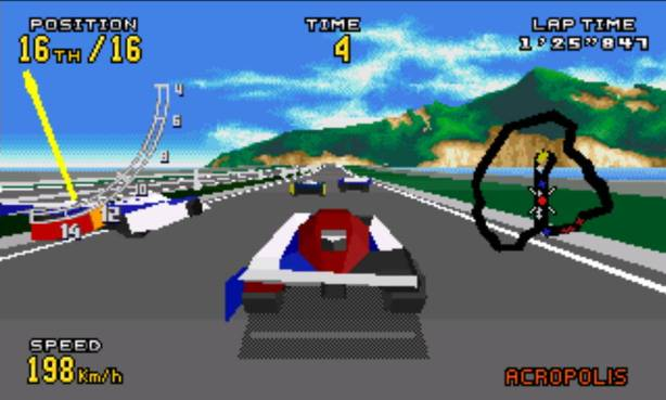 Virtua Racing 32x