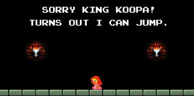 Sorry Mario Bros.