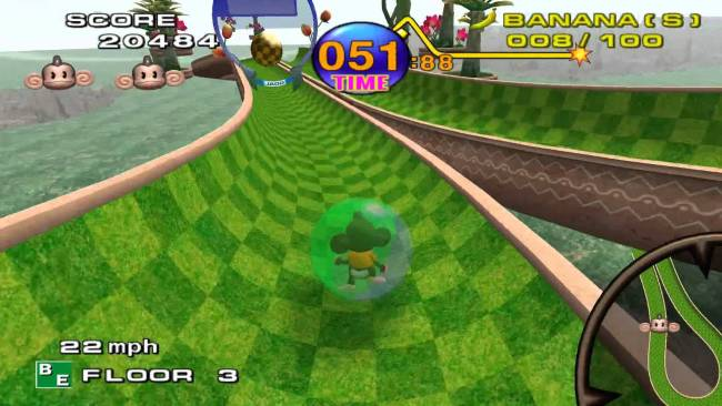 super monkey ball game cube
