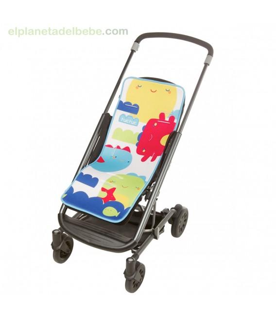 Colchoneta Silla Paseo Ligera Mini Monster Tuc Tuc