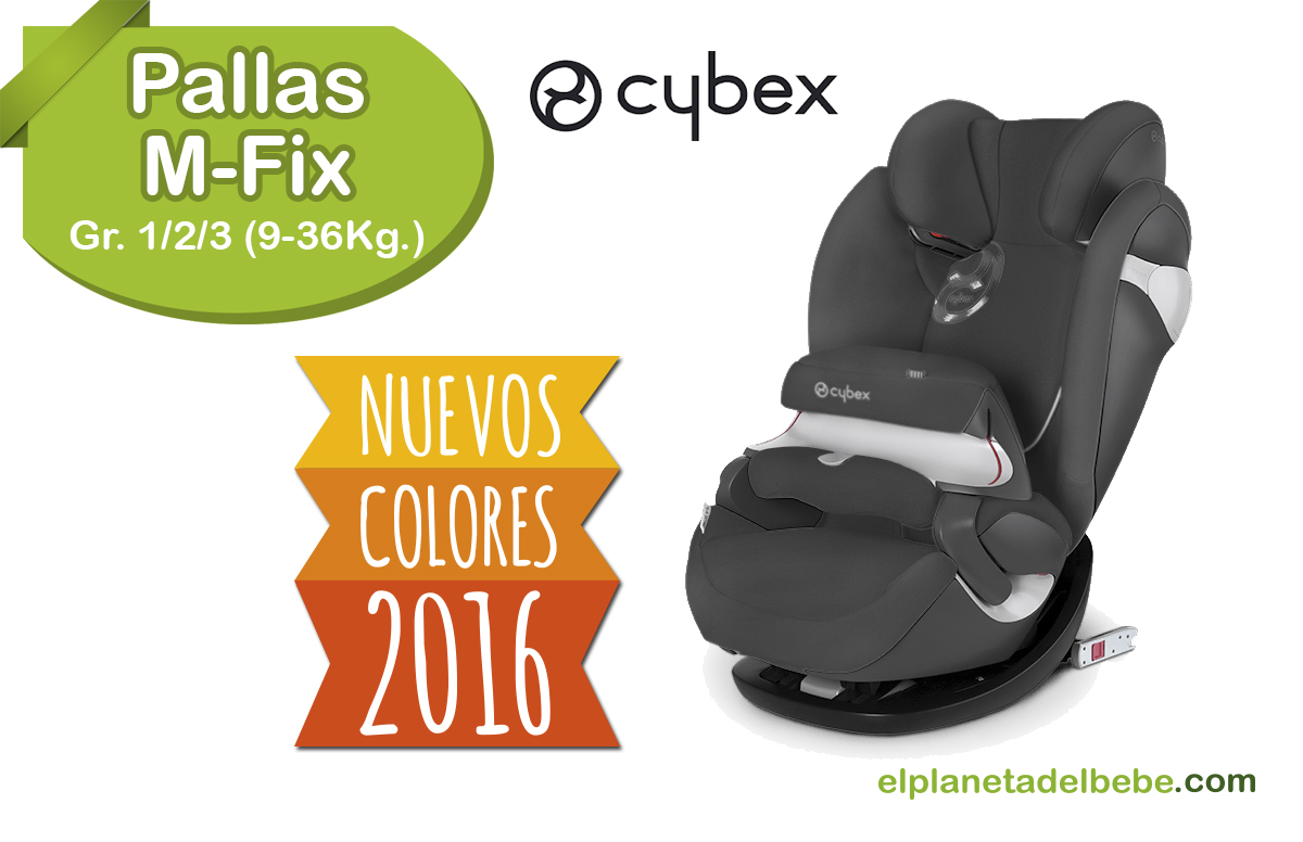 silla auto pallas m fix de cybex grupo 1 2 3 de 9 a 36kg. Black Bedroom Furniture Sets. Home Design Ideas