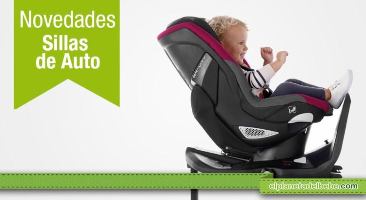 Conoce las últimas novedades en sillas de auto y sistemas de retención infantil