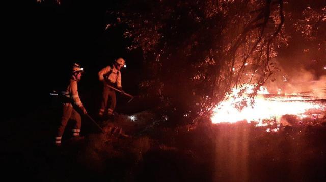 Controlado el incendio en Sierra Bermeja tras calcinar casi 8.000 hectáreas