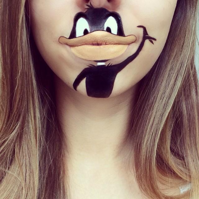 Cartoon-Lip-Art-By-Makeup-Artist-Laura-Jenkinson-2