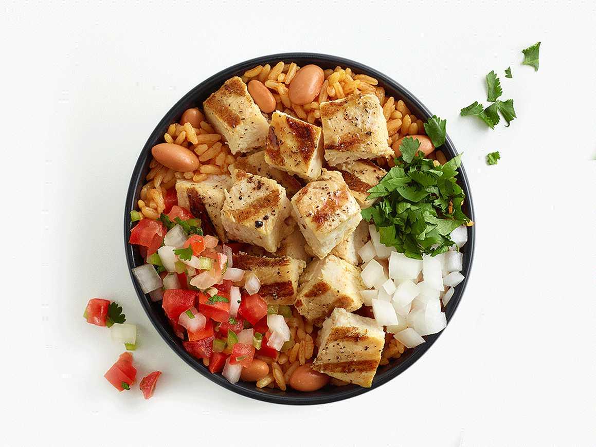 Grilled Chicken Fresh Order Fire