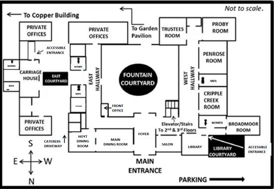 Penrose House / Plan a Meeting