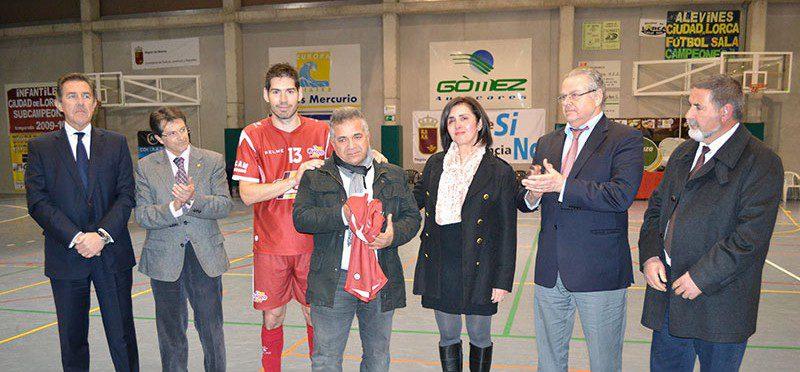 Homenaje a José Romera en la Final Copa Presidente
