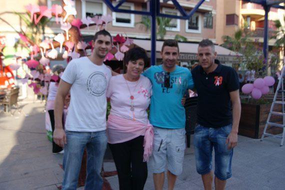 ElPozo Murcia FS contra del Cáncer de Mama