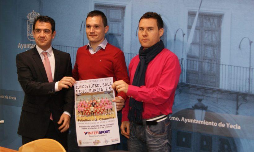 I Clinic escolar ElPozo Murcia FS en Yecla