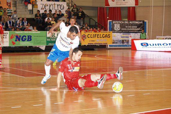 ElPozo Murcia tropieza en Zaragoza (6-3)