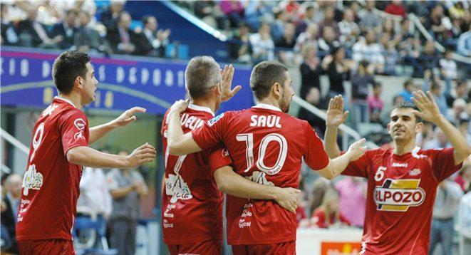 ElPozo Murcia se planta en la final tras arrollar a Lobelle de Santiago en semifinales de la Copa de SM El Rey