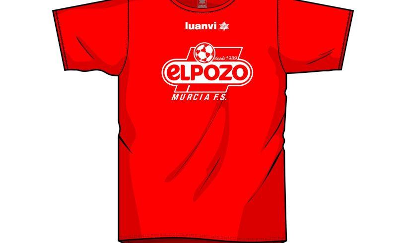 ¡Consigue tu camiseta y anima a ElPozo Murcia!