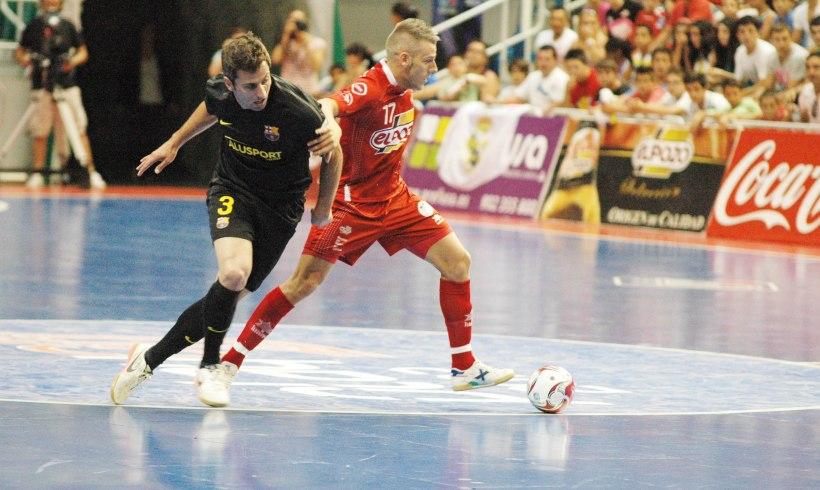 ElPozo Murcia planta cara al FC Barcelona y se centra en el segundo partido de la Final