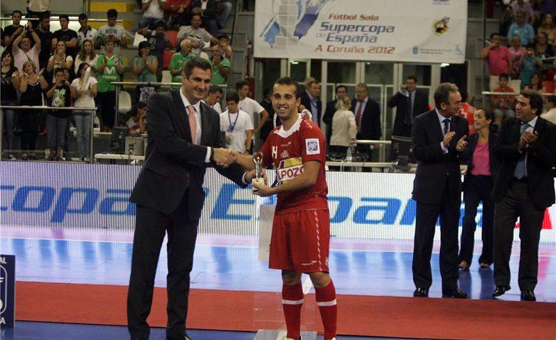 Adri, Mejor Jugador Supercopa 'A Coruña 2012'