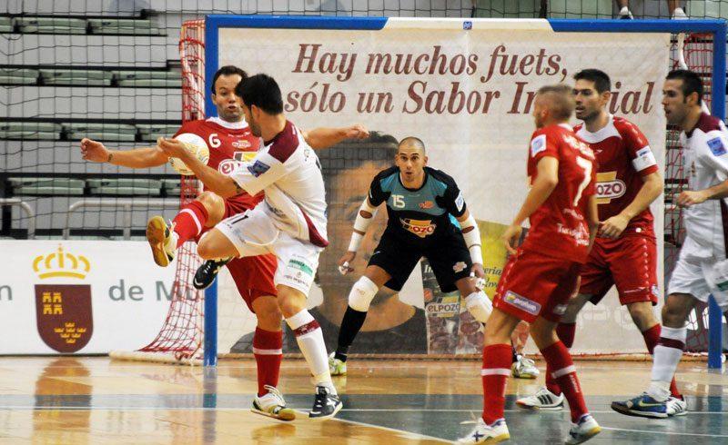 ElPozo Murcia consigue los tres primeros puntos de la temporada con goles de Franklin y de Bail