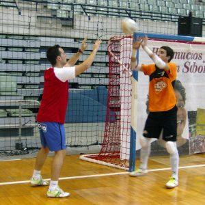 Manolo y Fabio durante el entrenamiento