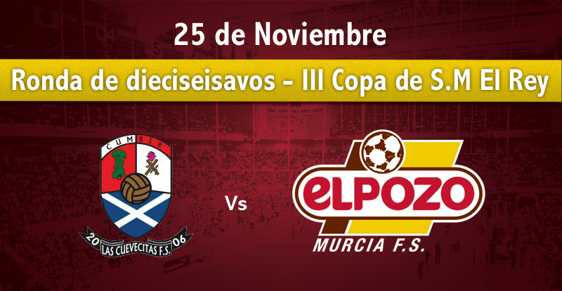 Las Cuevecitas-ElPozo Murcia,  se adelanta al domingo 25 de noviembre