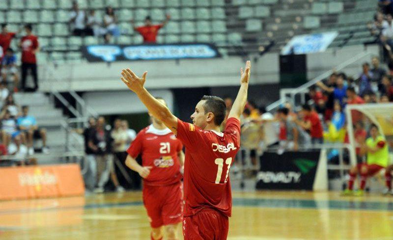 ElPozo Murcia golea a Energy Lviv (8-3) y se coloca primero del Grupo C