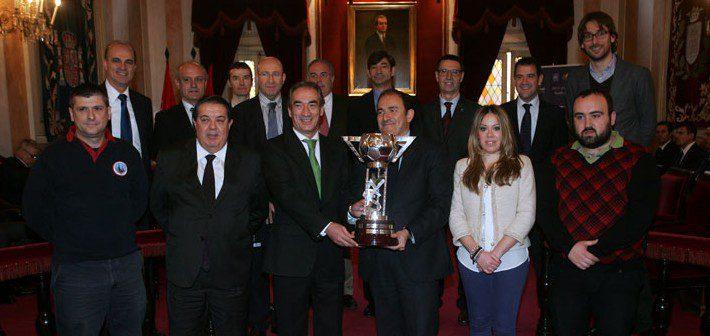 Presentación Copa de España 2013