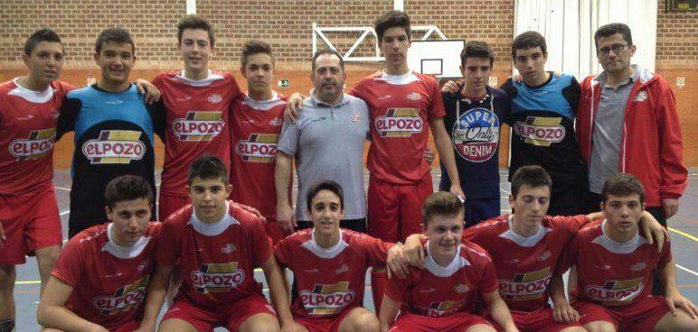 El equipo Cadete Aljucer ElPozo FS se proclama Campeón de Liga a dos jornadas de concluir la competición