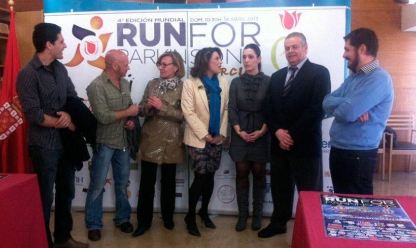 ElPozo Murcia FS colabora en la carrera popular  Run for Parkinson's para luchar contra esta enfermedad