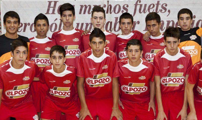 El equipo Cadete Aljucer ElPozo FS, clasificado para     disputar la Final Four del Campeonato de España