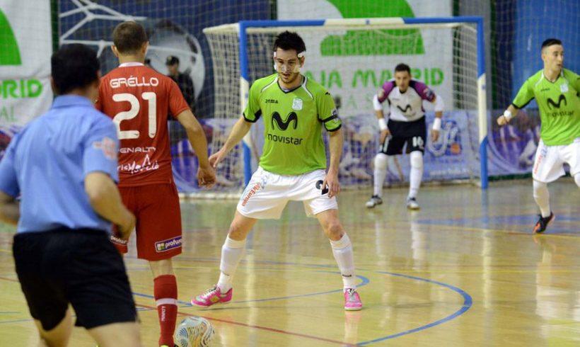 ElPozo Murcia FS, a por la remontada en el Palacio al caer ante Inter en Alcalá