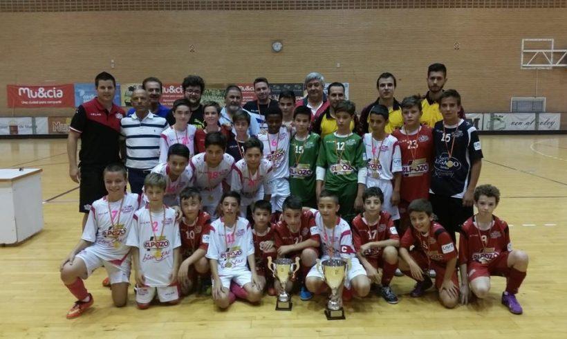 ElPozo Alevín A y B triunfan en la Final Copa FFRM