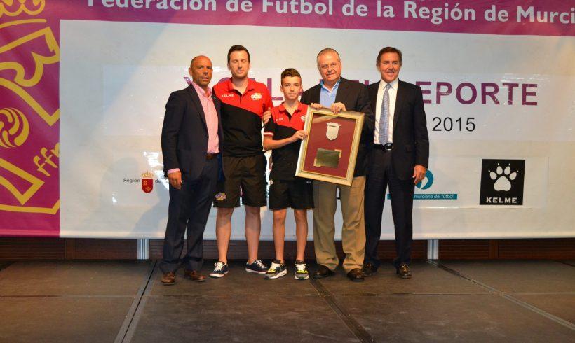ElPozo FS Infantil, premiado en la X Gala de la FFRM