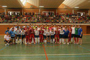 Foto de familia. San Clemente vs ElPozo Murcia