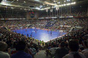 Murcia, 15-06-2015, LNFS, Primera Division Futbol Sala, 4 partido de Play Off por el titulo de Liga entre El Pozo Murcia FS vs Inter Movistar, Palacio los deportes de Murcia, Temporada 2014-2015.