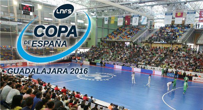 Guadalajara, sede de la Copa de España 2016