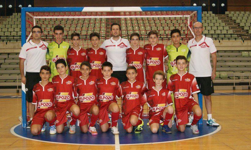 Los equipos Alevín A, Infantil y Cadete ElPozo FS, rumbo a la World Futsal Cup