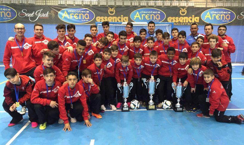 World Futsal Cup| El equipo Infantil, Campeón del torneo