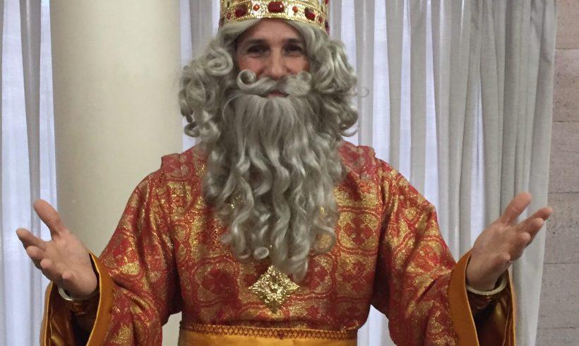 Galería| Duda, representante del Rey Melchor en Murcia