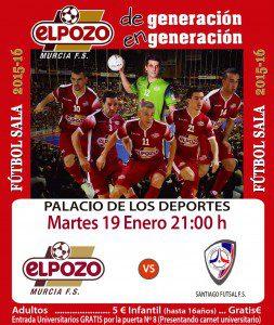 Promoción ElPozo vs Santiago