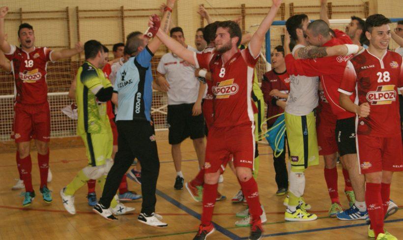 SEGUNDA|ElPozo Ciudad de Murcia FS vs Plásticos R. Cartagena,domingo 17 de Abril en el pabellón Cagigal