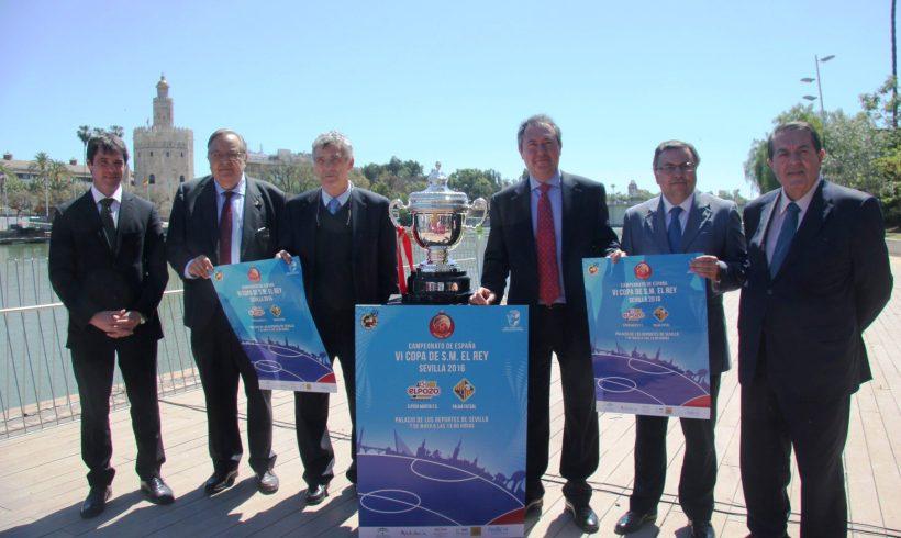 Oficial| Sevilla acoge la presentación de la Final Copa S.M El Rey