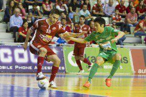 Murcia, 30-10-2015, LNFS, Primra Division Futbol sala, Liga Regular encuentro entre ElPozo Murcia vs Magna Gurpea, Palacio de los Deportes de Murcia, Jornada 8, Temporada 2015-2016.