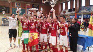 ElPozo Juvenil FS Campeón de España