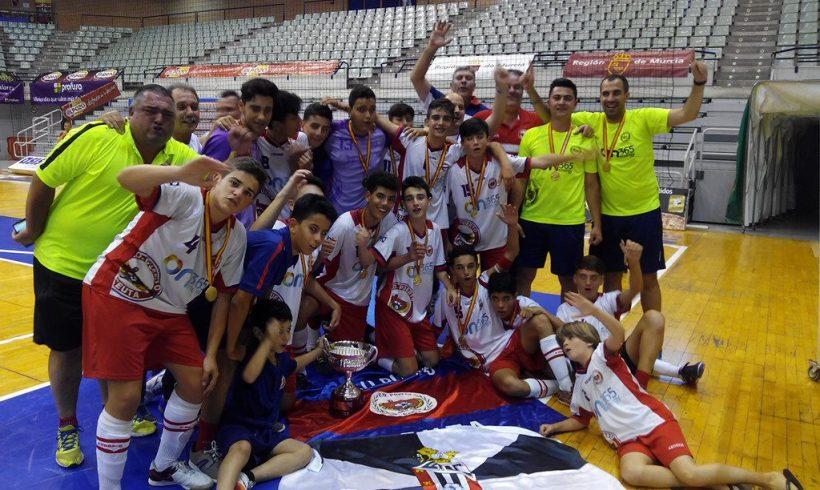 Infantil|CD Puerto de Ceuta se proclama Campeón al ganar 2-1 al FC Barcelona