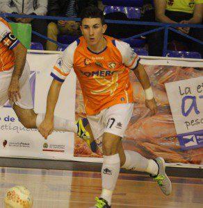 Dani Gomez. Foto Cronicas Deportivas Cartagena