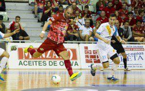 LNFS, ElPozo Murcia FS vs Catgas E. Santa Coloma, Jornada 2, Palacio de los deportes de Murcia, 14-10-2016, Foto/Pascu Mendez