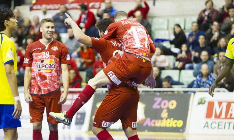 Crónica Jª 13| La mejor despedida del año ElPozo Murcia 8-0 Gran Canaria
