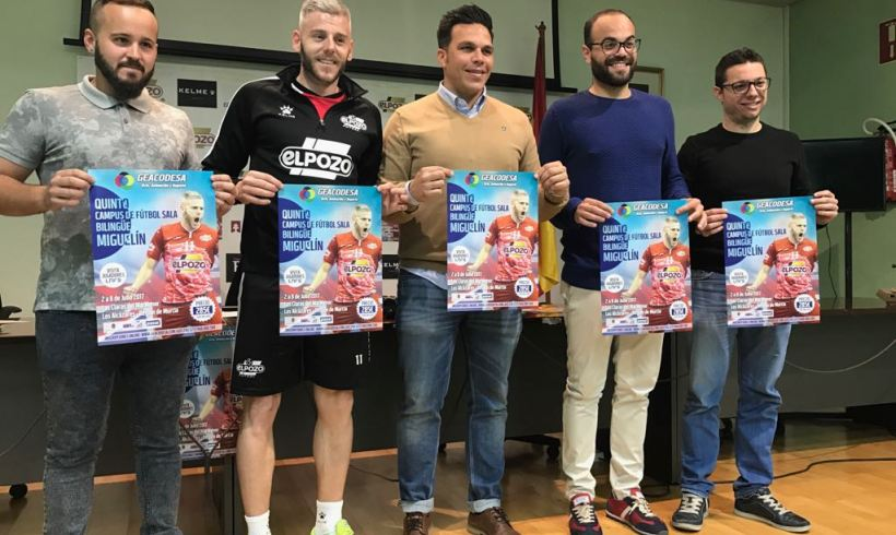 SOCIAL| Quinto Campus de fútbol sala bilingüe MIGUELÍN (Del 2 al 8 Julio Los Alcázares)
