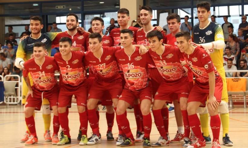 JUVENIL| ElPozo FS Juvenil, subcampeón del Campeonato de España