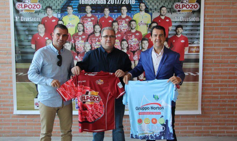 Club Asociado| El Club Deportivo El Ejido 2012 y ElPozo Murcia FS firman un acuerdo de colaboración para las dos próximas temporadas