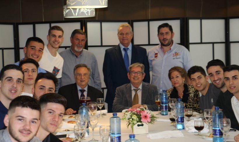 Galería| Comida celebración Campeones Liga ElPozo Ciudad de Murcia 2018
